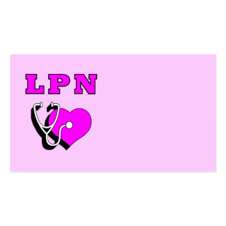 LPN Care Business Cards