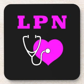 LPN Care Drink Coaster