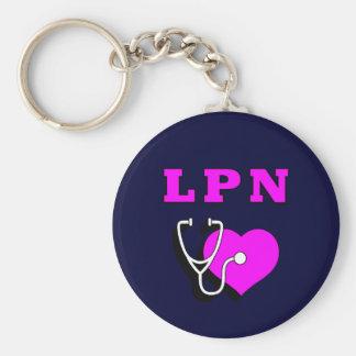 LPN Care Keychain