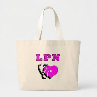 LPN Care Large Tote Bag