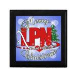 LPN CHRISTMAS Licensed Practical Nurse Keepsake Boxes