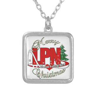 LPN CHRISTMAS Licensed Practical Nurse Custom Necklace