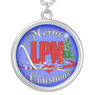 LPN CHRISTMAS NECKLACE LICENSED PRACTICAL NURSE