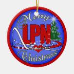 LPN CHRISTMAS ORNAMENT LICENSED PRACTICAL NURSE