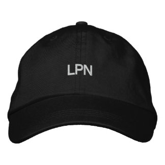 LPN EMBROIDERED BASEBALL HAT