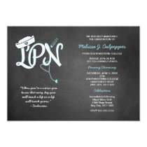 LPN graduation nurse pinning ceremony invites