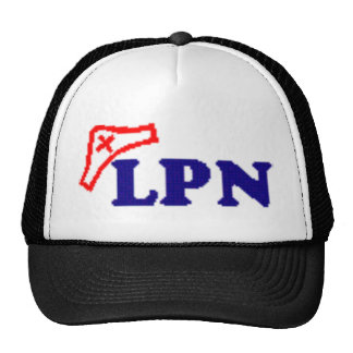 LPN TRUCKER HAT