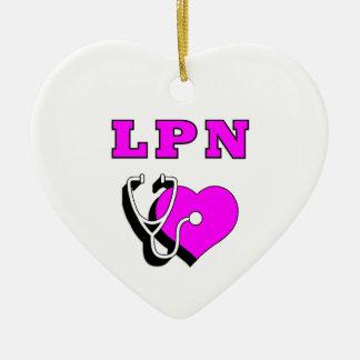 LPN Heart Care Christmas Ornaments