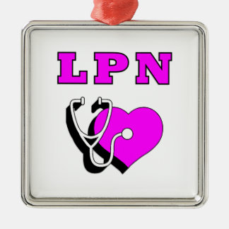 LPN Heart Care Christmas Ornament