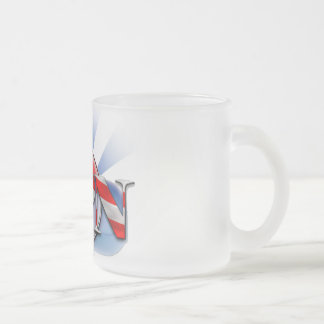 LPN IN THE USA (LICENSED PRACTICAL NURSE) FROSTED GLASS COFFEE MUG