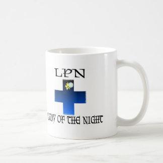 LPN-Lady of The Night Classic White Coffee Mug