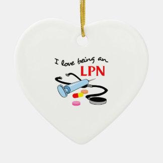 LPN  LICENSED PRACTICAL NURSE ORNAMENT