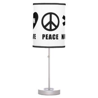 LPN Love Peace Nurse Desk Lamp