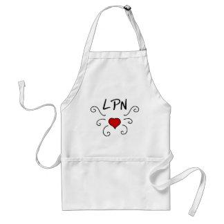 LPN Love Tattoo Adult Apron