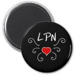 LPN Love Tattoo Fridge Magnet
