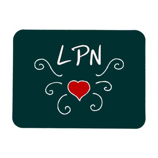 LPN Love Tattoo Magnet