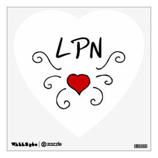 LPN Love Tattoo Wall Sticker