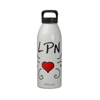 LPN Love Tattoo Drinking Bottle