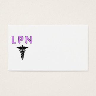 LPN Medical Business Card