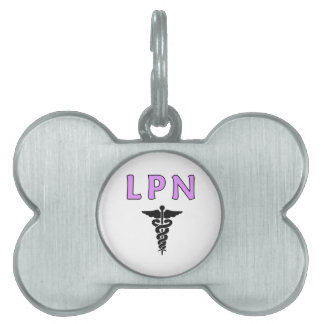 LPN Medical Pet Tag
