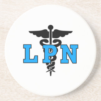 LPN Medical Symbol Coaster