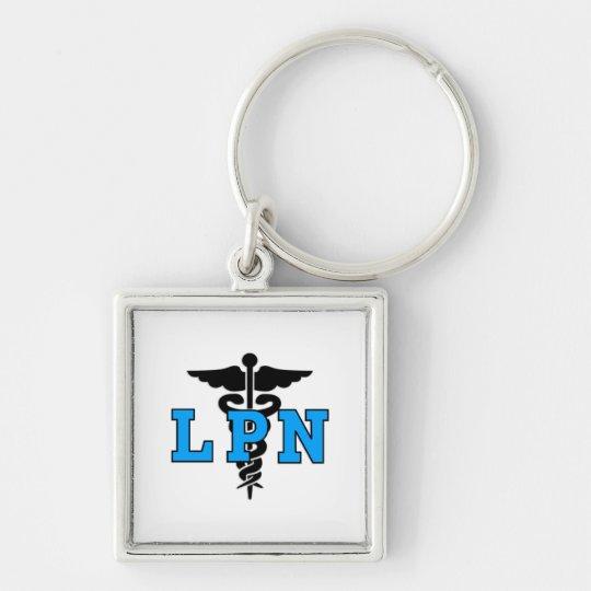 LPN Medical Symbol Keychain
