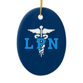 LPN Medical Symbol ornament