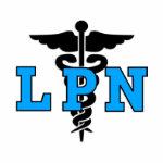 LPN Medical Symbol shirt
