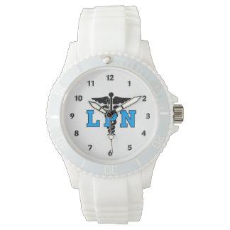 LPN Medical Symbol Wristwatches