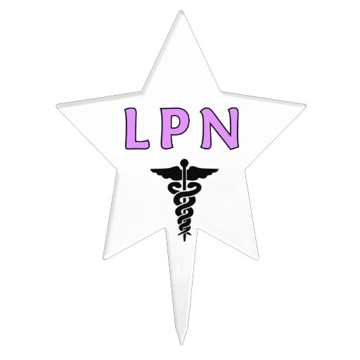 LPN médico Figura De Tarta