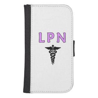 LPN médico Fundas Tipo Billetera Para Galaxy S4
