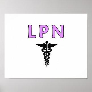 LPN médico Posters