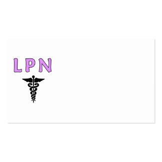 LPN médico Plantillas De Tarjeta De Negocio