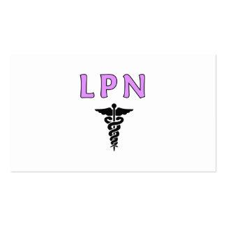 LPN médico Tarjetas De Visita