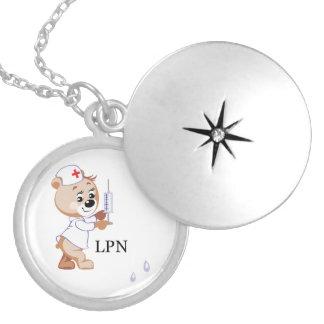 LPN Nurse Bear Lockets