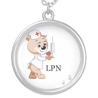 LPN Nurse Bear Necklaces
