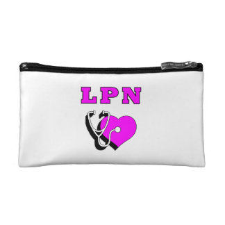 LPN Nurse Care Makeup Bags