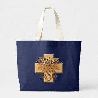 LPN Nurse Large Tote Bag