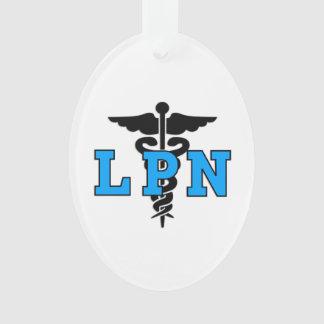 LPN Nurse Medical Symbol Ornament