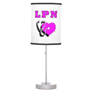 LPN Nurses Care Table Lamp
