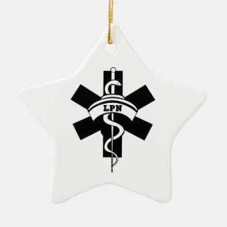 LPN Nurses Ceramic Ornament