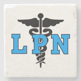 LPN Nurses Symbol Stone Coaster