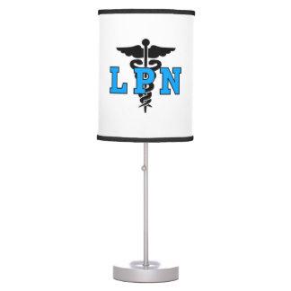 LPN Nurses Symbol Table Lamp