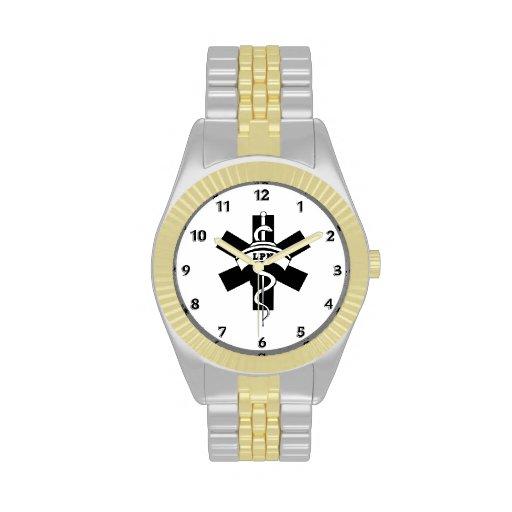 LPN Nurses Wristwatch