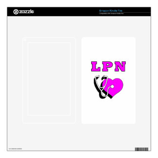 LPN Nursing Care Kindle Fire Decal