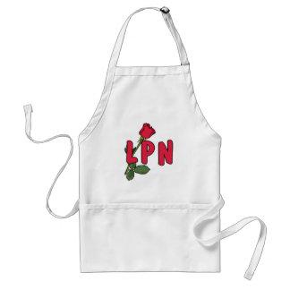 LPN Rose Adult Apron