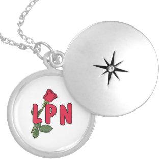 LPN Rose Locket Necklace