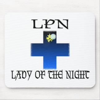 LPN-Señora de la noche Alfombrillas De Raton