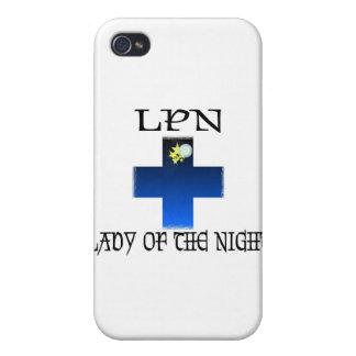 LPN-Señora de la noche iPhone 4/4S Carcasas