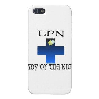 LPN-Señora de la noche iPhone 5 Cárcasas
